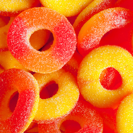 Peach Ring Candy Drink